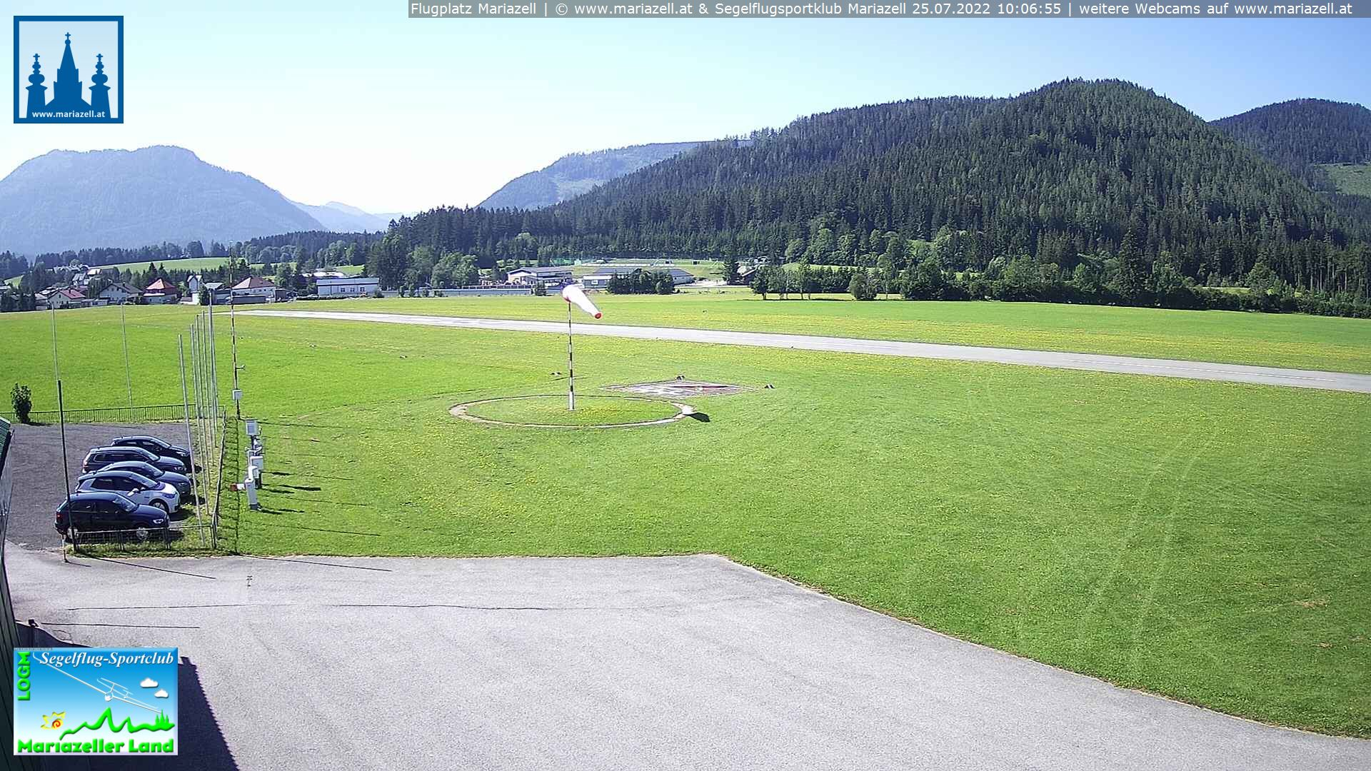Webcam Flugplatz LOGM